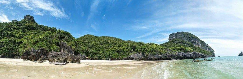 หน่วยพิทักษ์อุทยานแห่งชาติ อ่าวสองพี่น้อง เกาะพะลวย