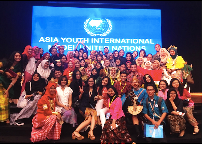 "THE 1st ASIA YOUTH INTERNATIONAL MODEL UNITED NATIONS ""Enhancing Global Power through Diplomacy and Regional Integration"""