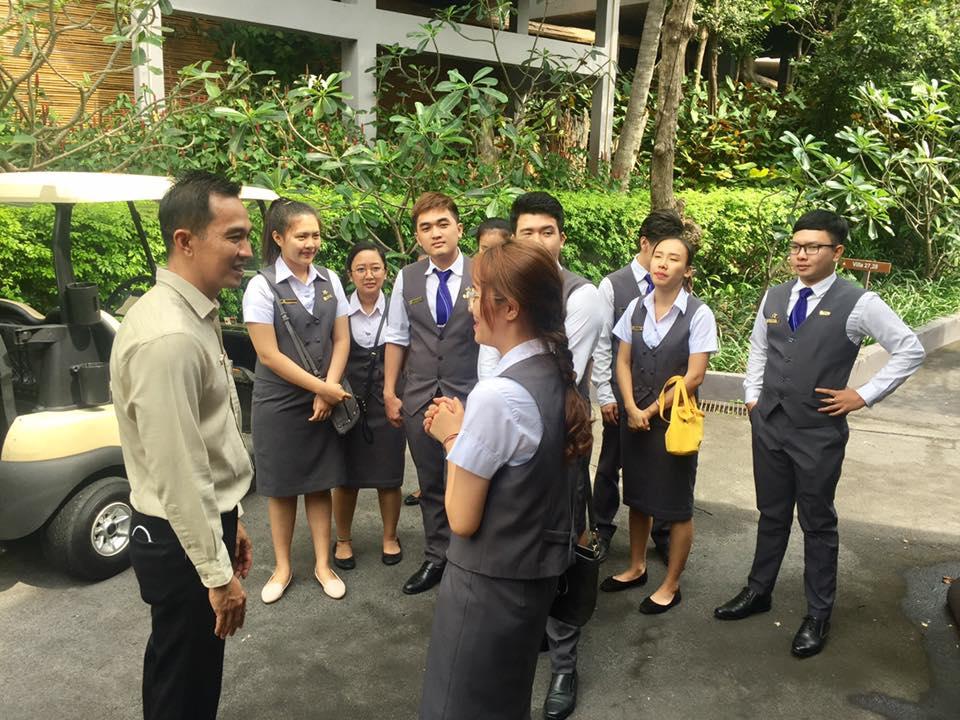 นักศึกษาการจัดการโรงแรม