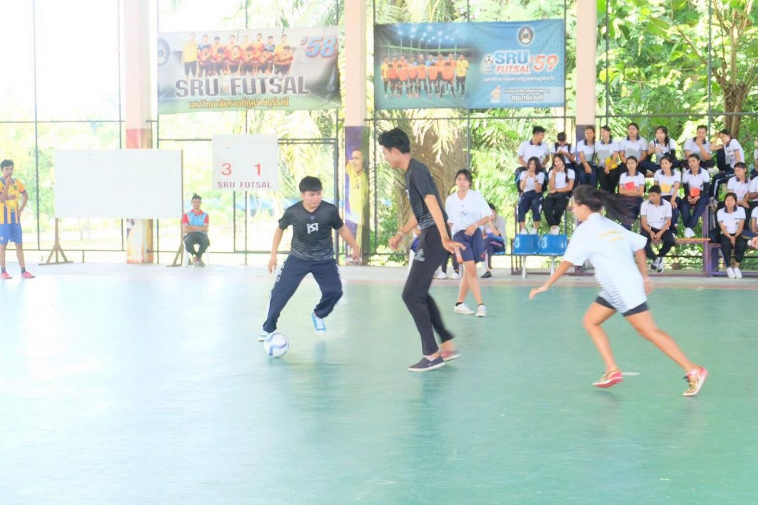 แข่งขันกีฬาประเพณี วนช. ม่วง-ขาว ประจำปี 2560