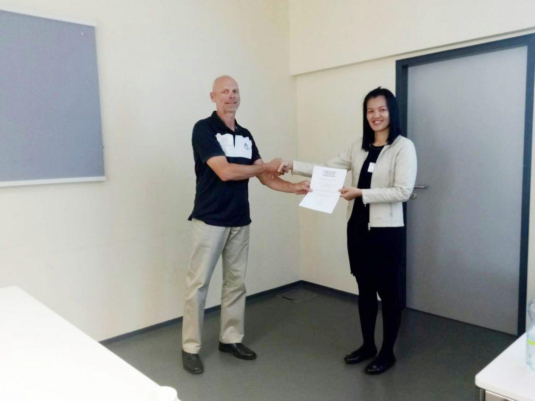 ดร.ชุลีวรรณ ปราณีธรรม นำเสนอผลงานวิชาการ ในงานประชุมวิชาการระดับนานาชาติ The 33rd International Academic Conference ณ กรุงเวียนนา ประเทศออสเตรีย
